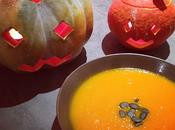 Potage d'Halloween Potiron, potimarron cumin