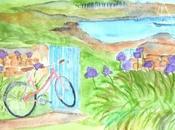 Retour l'aquarelle: Bréhat l'Ile fleurs...