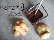 Biscuits fondants tremper dans chocolat L'heure Goûter