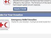 Facebook s'ouvre Social Donation avec Croix Rouge