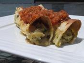 Cannelloni courgette-chèvre