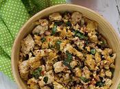 Laap tofu, salade laotienne