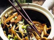 Petit voyage pays champignons japonais sauté vite fait bien
