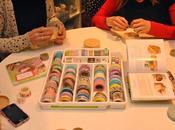 Atelier Masking Tape pour lancement livre