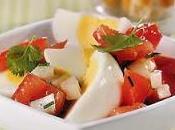 Salade tomates oeufs