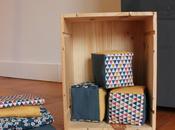 Jolis cubes tissu pour Anna