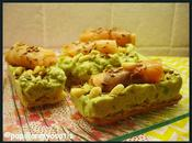 Tartines mousse d'avocat saumon
