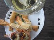 Chips mousse d'huîtres fumées duxelles champignons sauvages