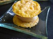 Croustillants parmesan noix Saint-Jacques