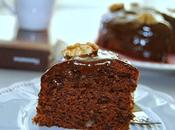 Gâteau moelleux chocolat noix (sans oeufs beurre)