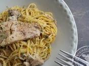 Salade spaghetti… foie gras cuit