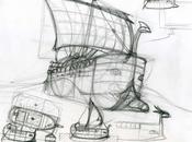 bateaux antiques, c'est galère