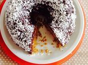 Gâteau potimarron-coco, glaçage chocolat (vegan)
