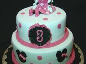 Gâteau étages Minnie Disney