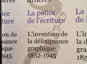 L'écrit dans cité polices l'écrit délinquance graphique