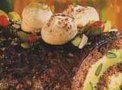 Bûche Noël chocolat pistaches