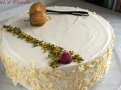 Gâteau Pommes Mousse Vanillée