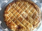 Galette Rois frangipane crème pâtissière