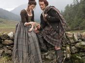 Outlander Claire Jamie Fraser première photo