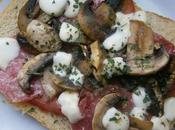 Tarpizz tartine pizza)
