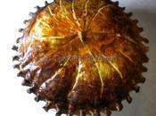 Galette rois crème d'amandes, compote d'abricots secs tonka
