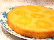 Gâteau renversé clémentine