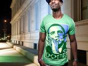 Cannabis t-shirt d'Obama