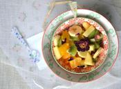 Salade fruits d'hiver l'hibiscus rose