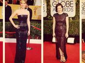 C'est saison belles robes Hollywood.