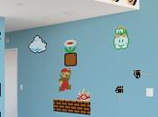 Stickers géants Super Mario Bros. nouvelle version