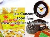 concours pour 3000 fans Facebook