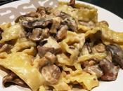 Mafaldine champignons