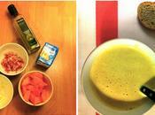 Régale papilles soupe potiron/lardons