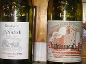 """Châteauneuf Pape Janasse """"vieilles vignes"""" 2006 Pierre Usséglio cuvée tradidionnelle 2001"""