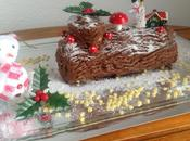 Bûche Noël chocolat noir