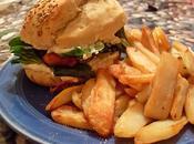 Sandwich filet poulet pané crème poivre fromage (Vegan)