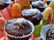 Fondant chocolat, coeur noix coco (Vegan)