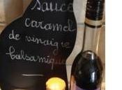 mange quoi demain Sauce caramel vinaigre balsamique