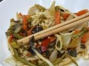 Nouilles japonaise sautées petits légumes