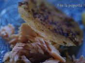 Croustillant saumon, ratatouille