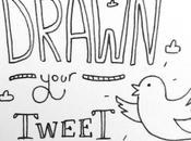 illustrateur dessine tweets imagés