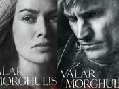 Game Thrones affiches personnages pour saison