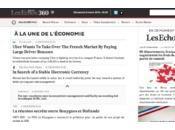 Echos 360, nouveau site curation l'actualité économique