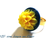 DIY: bague fleur...