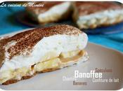Banoffee pie... tuerie anglo-saxonne (spéculoos, confiture lait, banane, crème fouettée)
