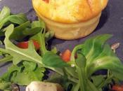 Muffins chorizo, emmental, olives vertes...