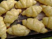 Croissants apéritifs fromage frais