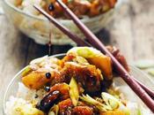 Poulet Tokyo Express… Parce qu'il fait trop chaud pour cuisiner mais aussi beau manger dehors…