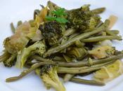 Poêlée légumes verts