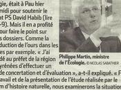 Philippe Martin botte touche
